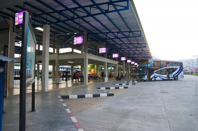 АвтовокзалTerminal 1 на Пхукете
