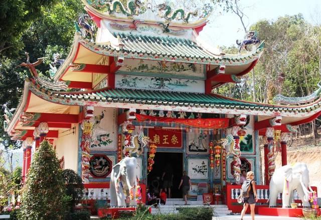 китайский храм Ват Чао По на Ко Чанге