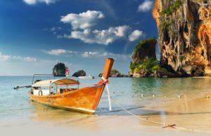 Пляж Рейли в Краби