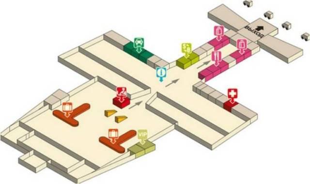 Аэропорт Краби схема-1