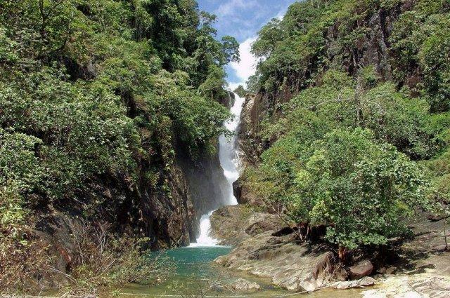 водопад Клонг Плу на ко Чанге