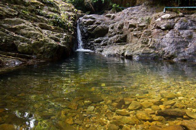 Klong Chao Luam Waterfall на Ко Чанге