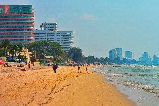 Городской пляж Хуа Хин