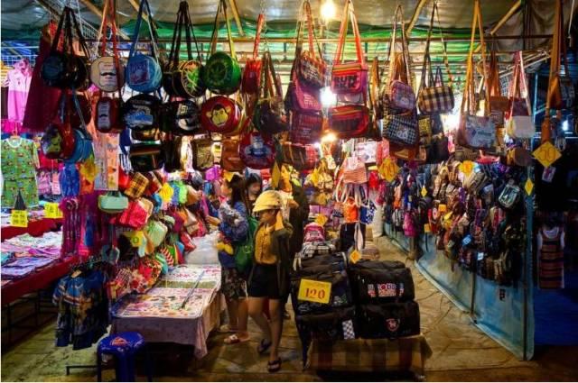 Рынок в Чиангмае