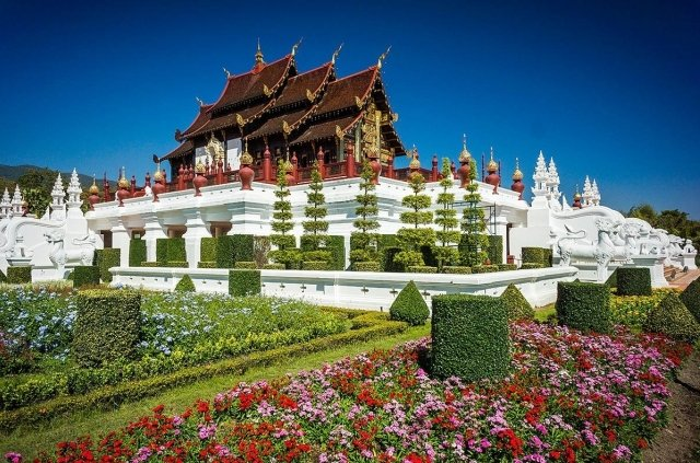 Парк Royal Flora Ratchaphruek в Чиангмае