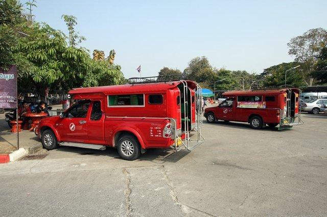 Сонгтео в Чиангмае