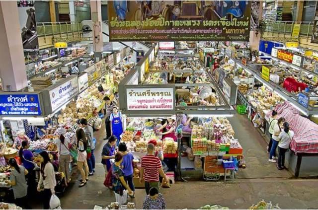 Рынок Warorot market
