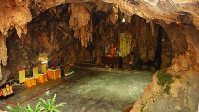Храм-пещера Wat Tham Phu Wa