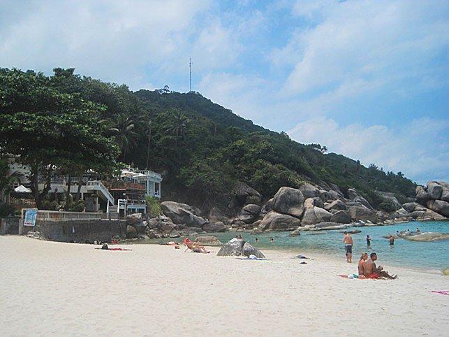Пляж Кристал Бей на Самуи