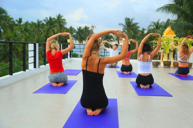 Восстанавливающая практика йога айенгара