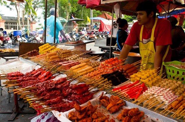 еда в Бангкоке