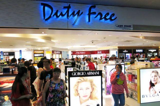 Магазин Дьюти Фри в Бангкоке
