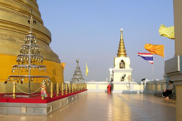 Храм Золотой Горы в Бангкоке
