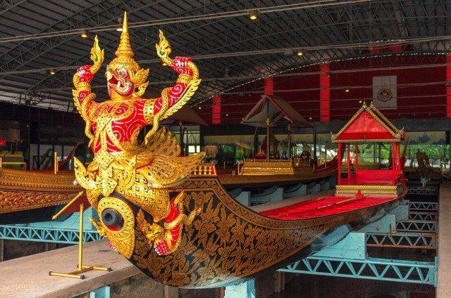Музей королевских барж в Бангкоке