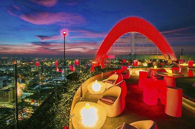 бары Бангкока на крыше