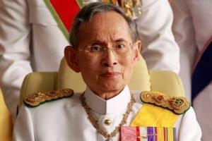 Тайский король Рама IX