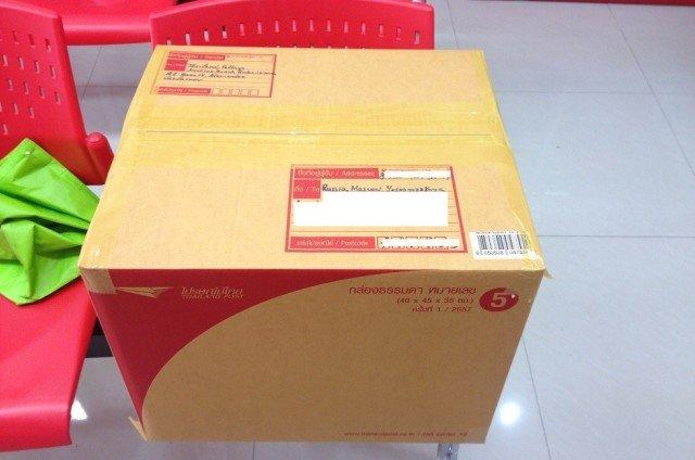 Почта в Паттайе