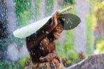 Сезон дождей на острове Бали