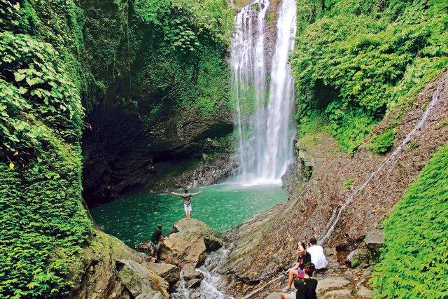 Водопад Aling Aling на Бали