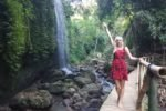 Водопады на острове Бали