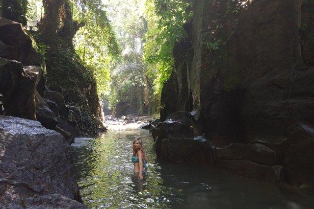 Водопад Kanto Lampo на Бали