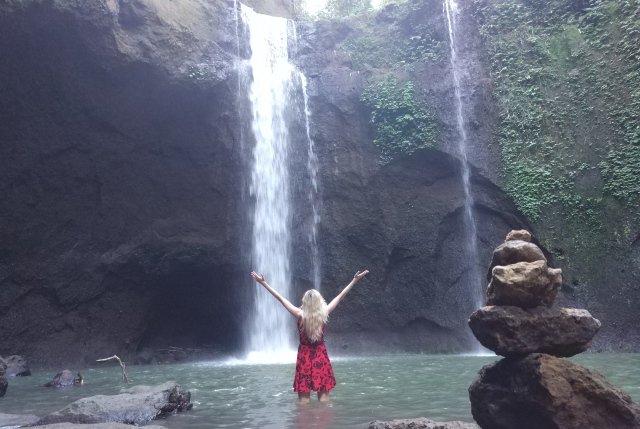 Водопад Tibumana на Бали