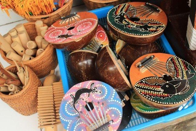 Музыкальные инструменты на Бали