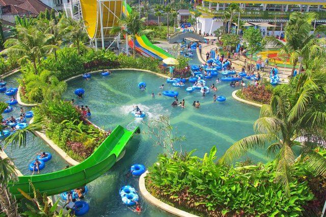 Аквапарк Сircus water park Bali