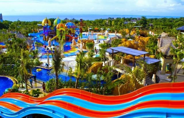 Аквапарк New Kuta Green Park на Бали