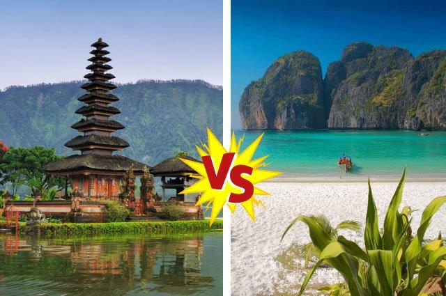 Бали или Тайланд? Где лучше отдыхать?
