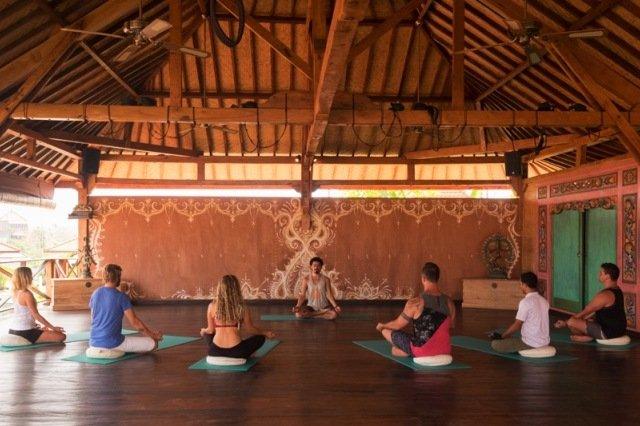 Yoga Searcher на Бали