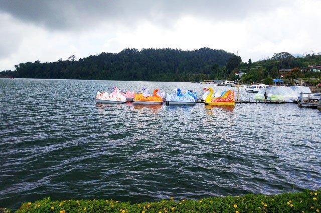 Озеро Братан на Бали