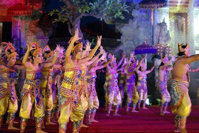 Tek Tok Dance на Бали