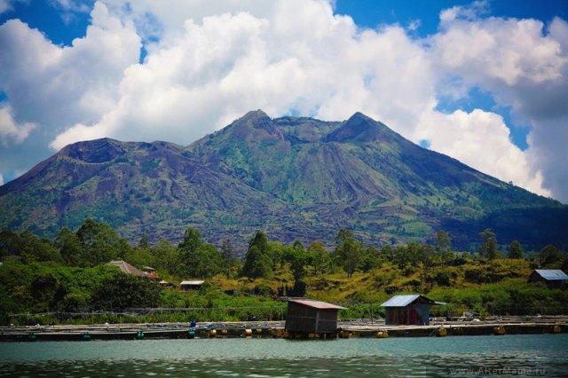 Вулкан Батур на Бали