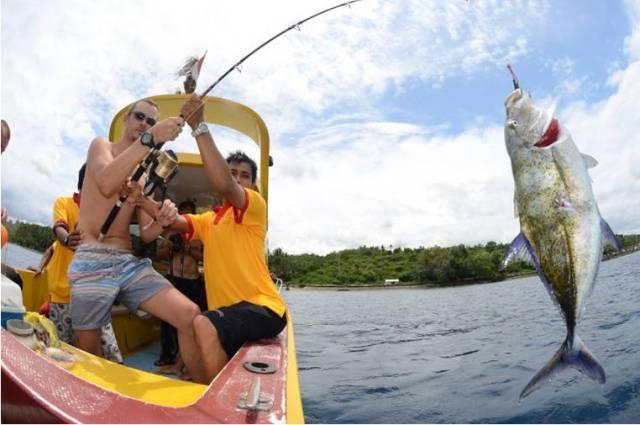 Рыбалка на острове Бали