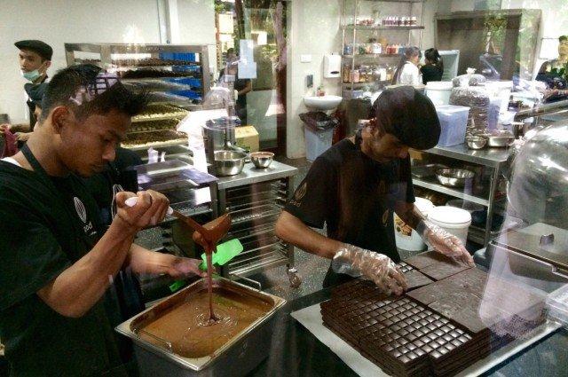 Шоколадная фабрика на Бали