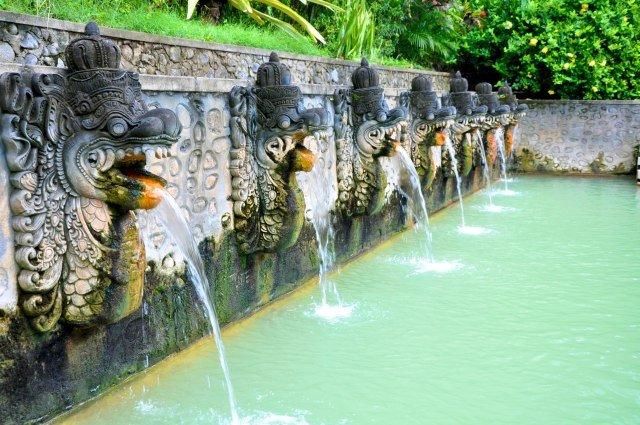 Горячие источники на острове Бали