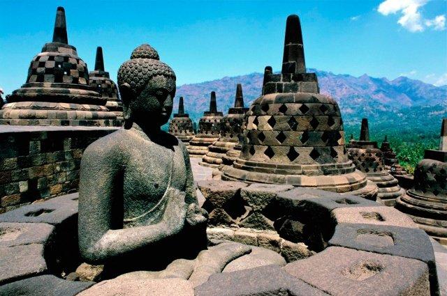 Остров Ява в Индонезии