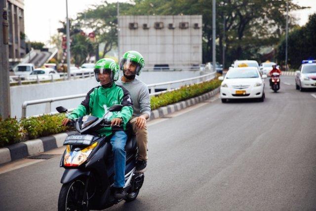 Мото-такси на Бали