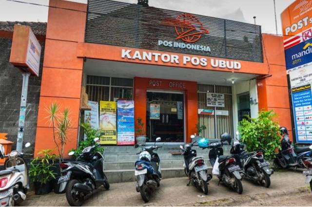 Почта на острове Бали