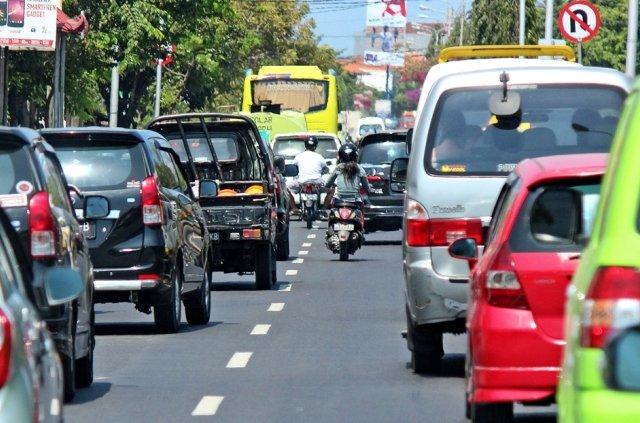 Дорожное движение на Бали