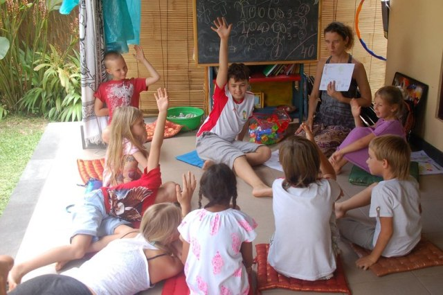 Русская школа Академия Света на Бали