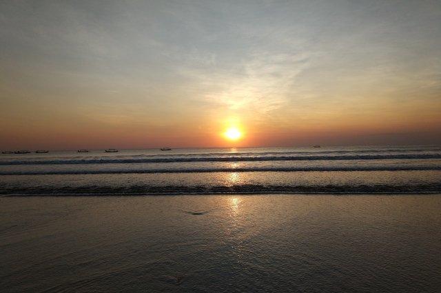 Самые красивые закаты на Бали