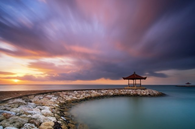 Самые красивые рассветы на Бали