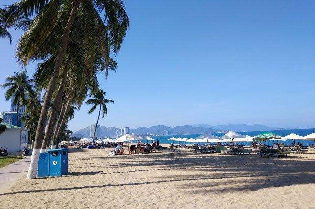 Центральный пляж Нячанга