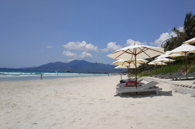 Пляж Зоклет в Нячанге