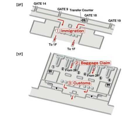 Зона прилета в аэропорту Камрань