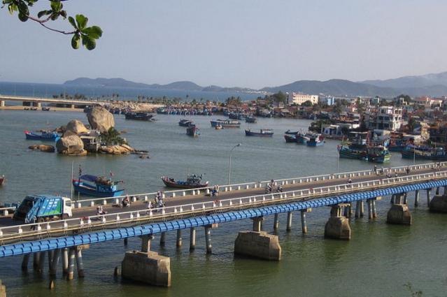 Река Кай в Нячанге