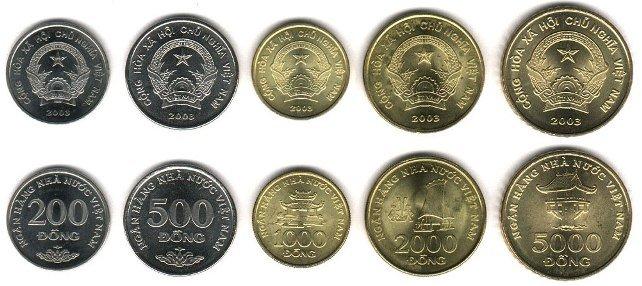 Деньги во Вьетнаме