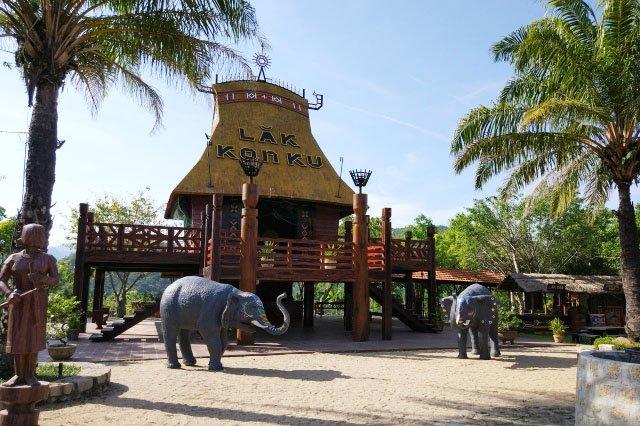 Парк 100 Яиц в Нячанге
